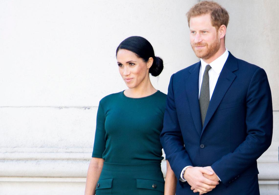 Prince Harry and Meghan, The Duke en Duchess of Sussex, arrive in Dublin, on the 1st of a 2 days visit to Dublin, 2018