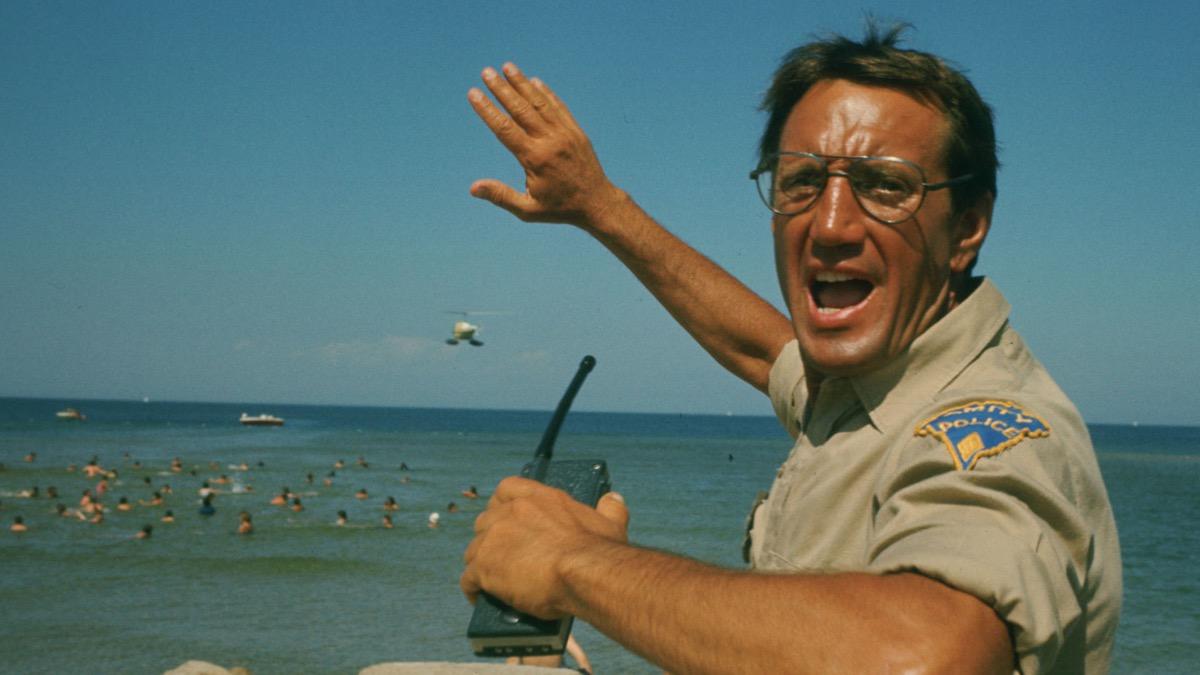 Roy Schneider in Jaws