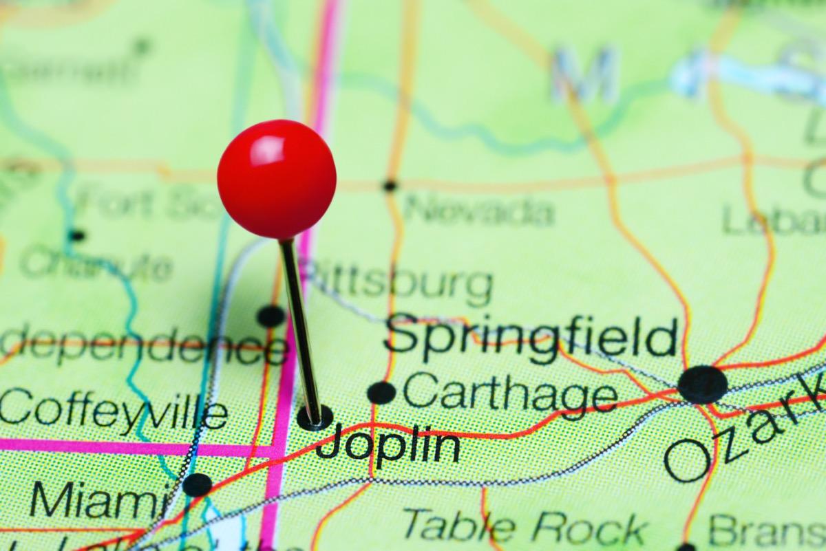 map of joplin