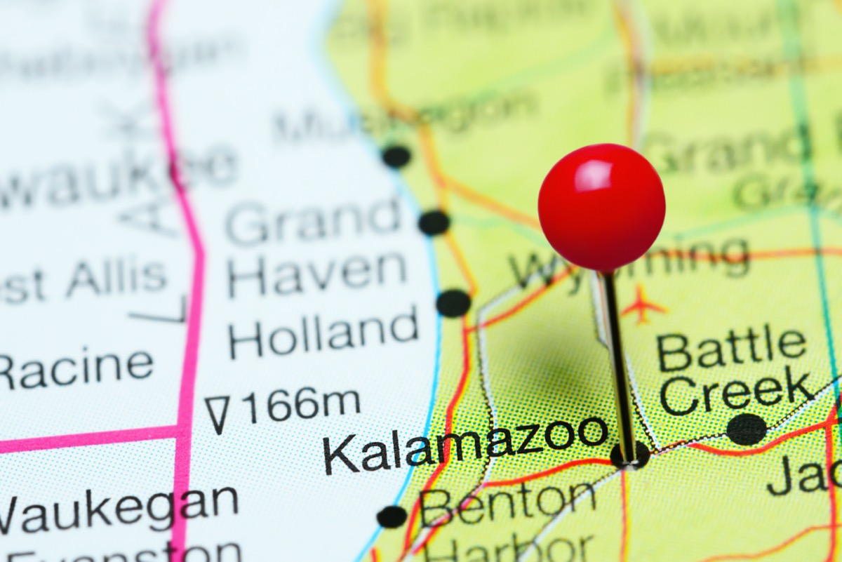 map of kalamazoo