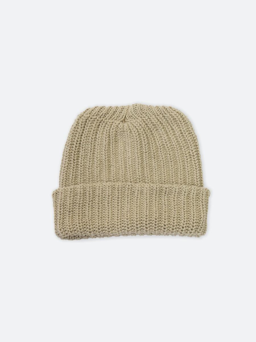 tan beanie hat
