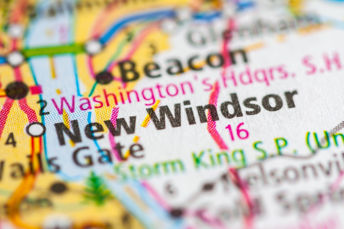map of new windsor