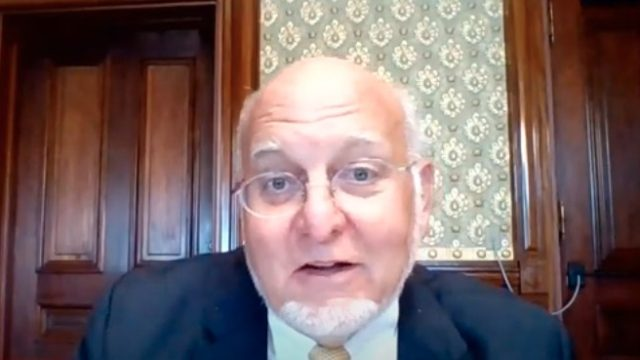 CDC Director Dr. Robert Redfield gives a live video interview to JAMA