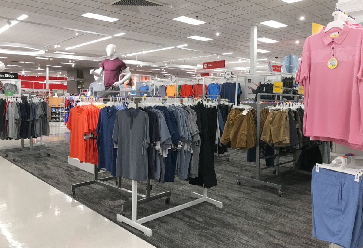 clothing at target
