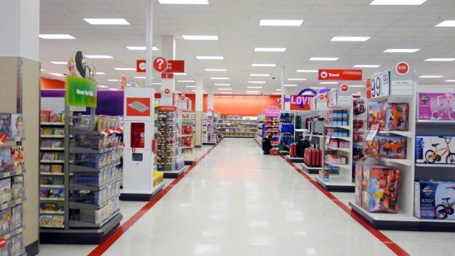aisles at target