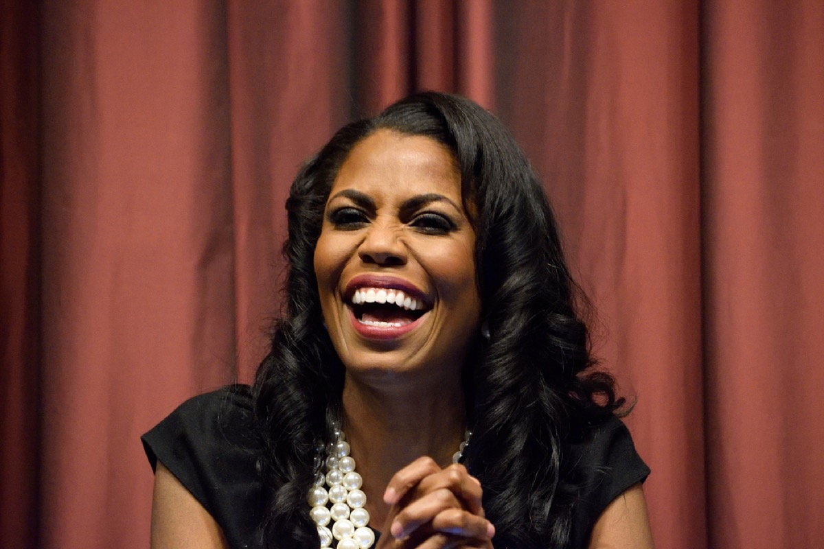 Omarosa Manigault Newman in a panel discussion at the National Action Network convention in 2016