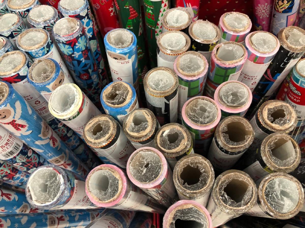 gift wrap at target