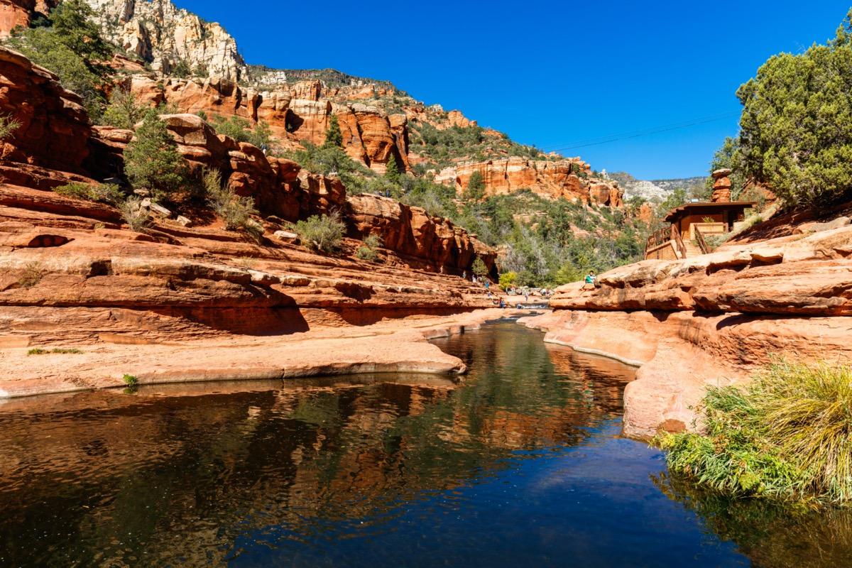 river in slide rock state park arizona