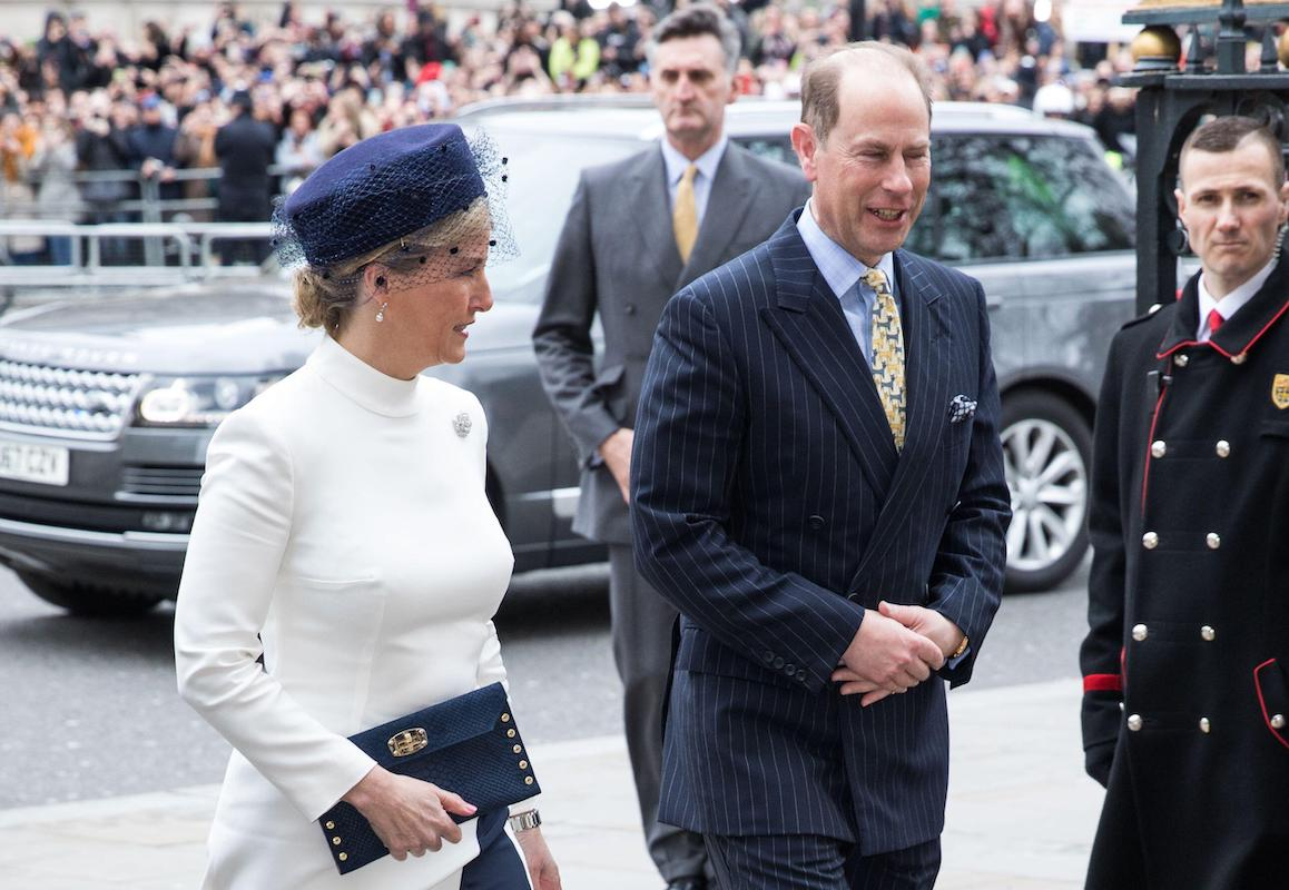 Arrivals for The Commonwealth Service at Westminster Abbey Featuring: Sophie, Countess of Wessex, Prince Edward, Earl of Wessex