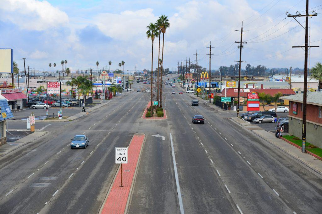 Bakersfield California street view