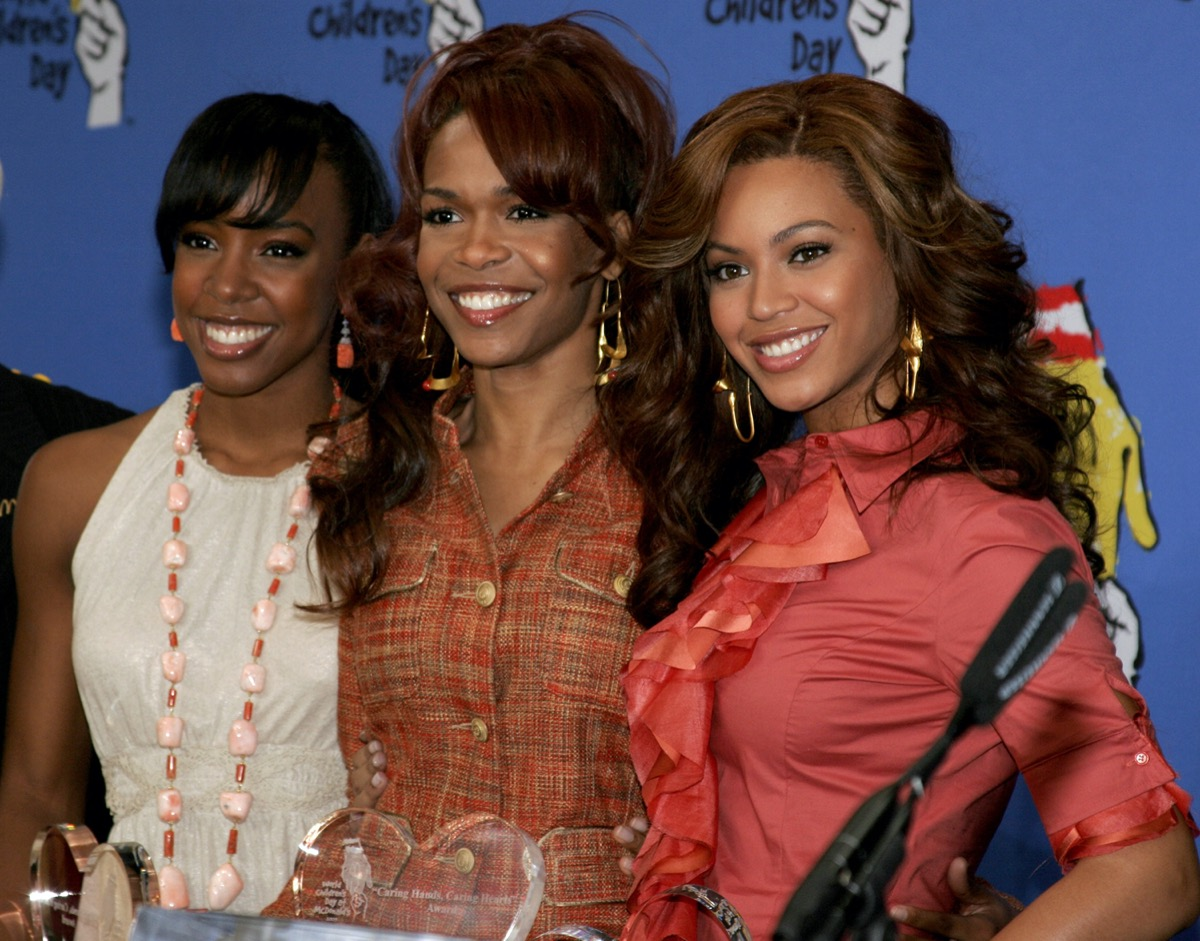 Kelly Rowland, Michelle Williams, and Beyonce
