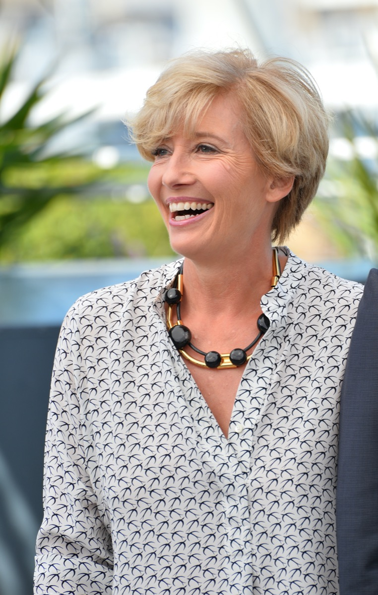 Emma Thompson at the 2017 Cannes Film Festival