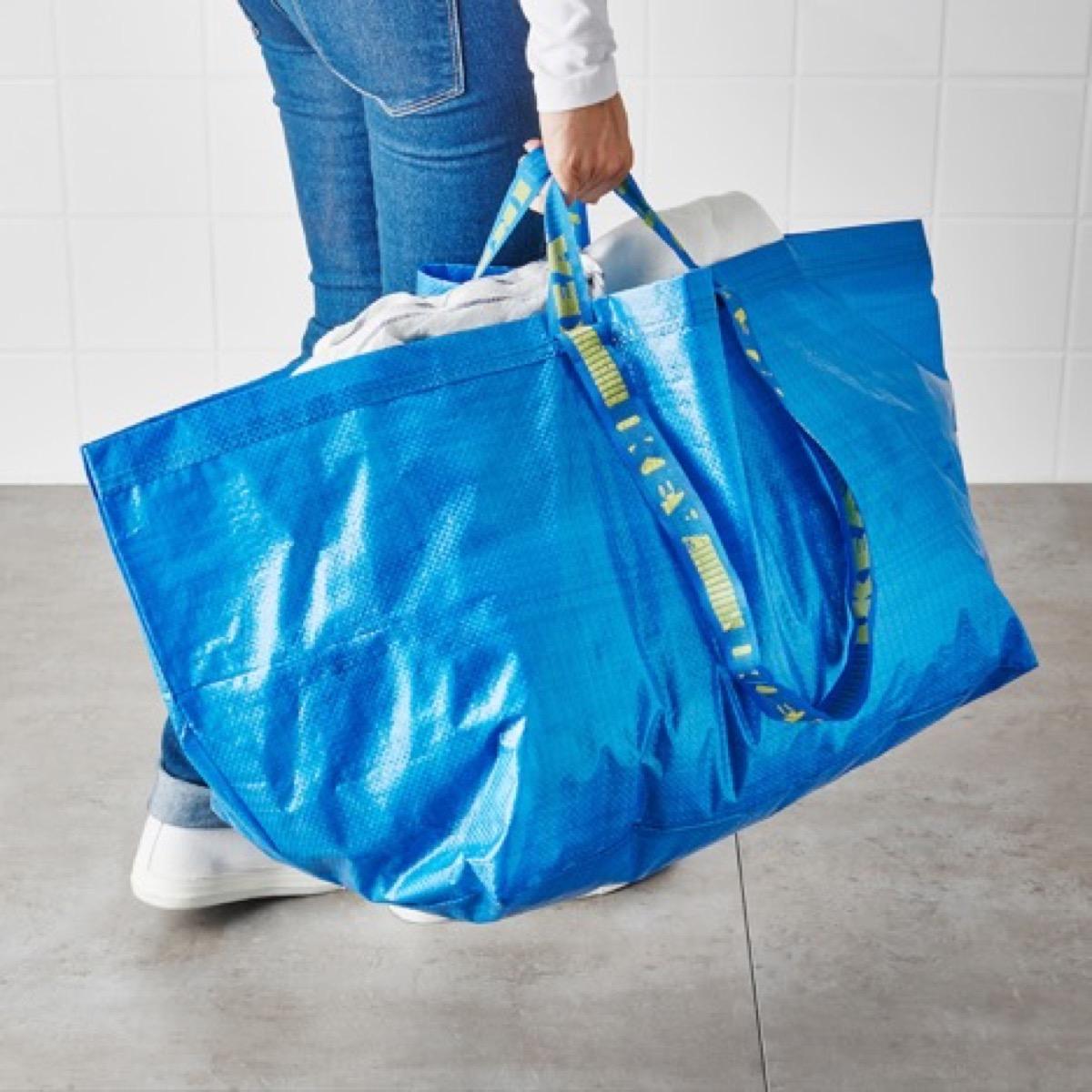 Ikea bag blue