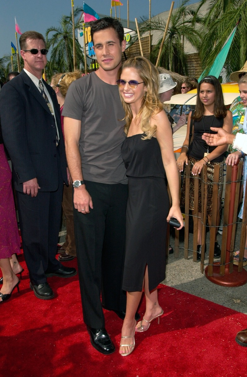 Freddie Prinze Jr and Sarah Michelle Gellar 2000