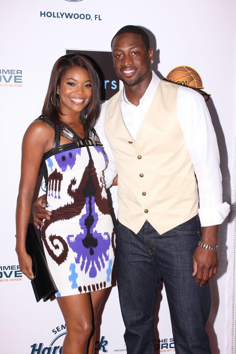 Gabrielle Union and Dwyane Wade 2010