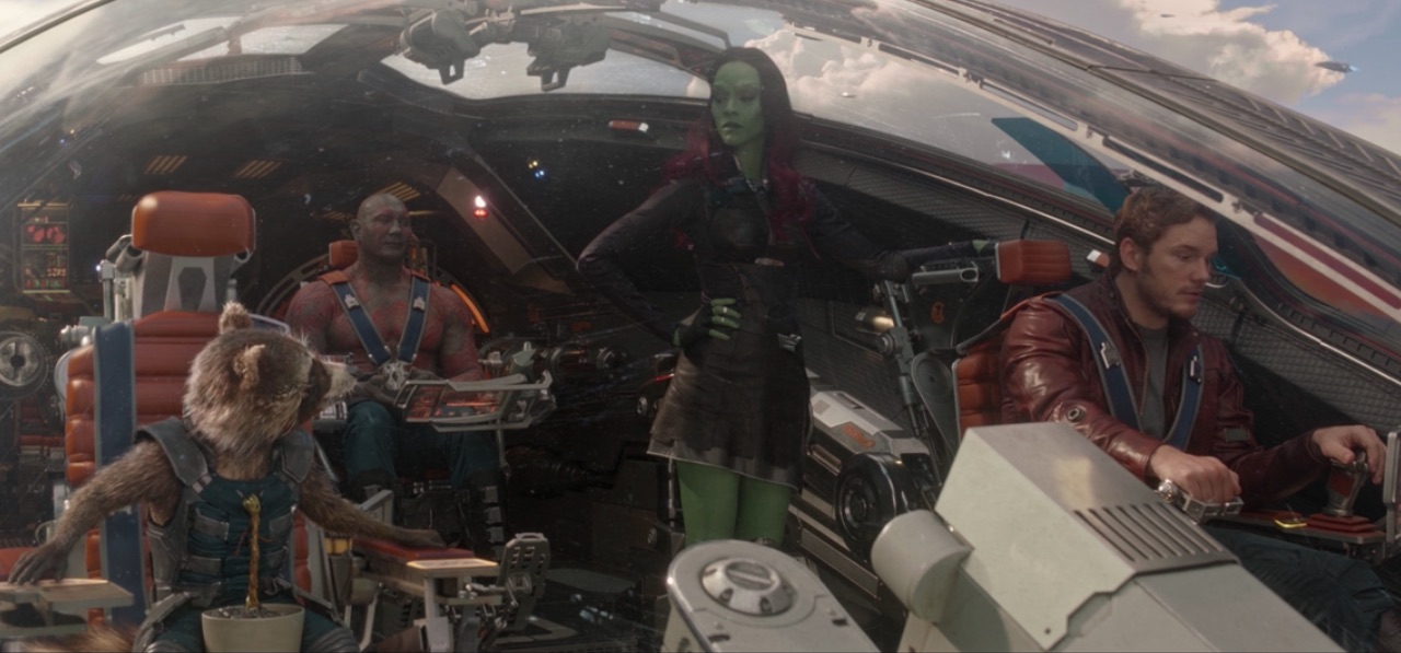 Guardians of the Galaxy final scene