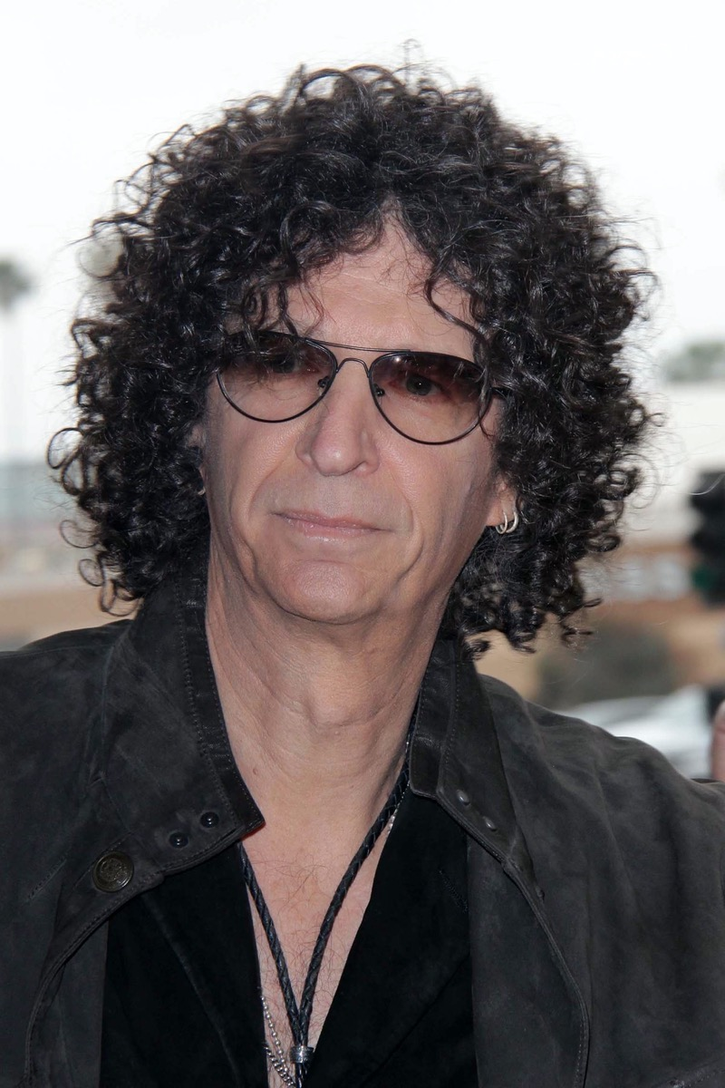 """Howard Stern at the """"America's Got Talent"""" Los Angeles Auditions in 2013"""