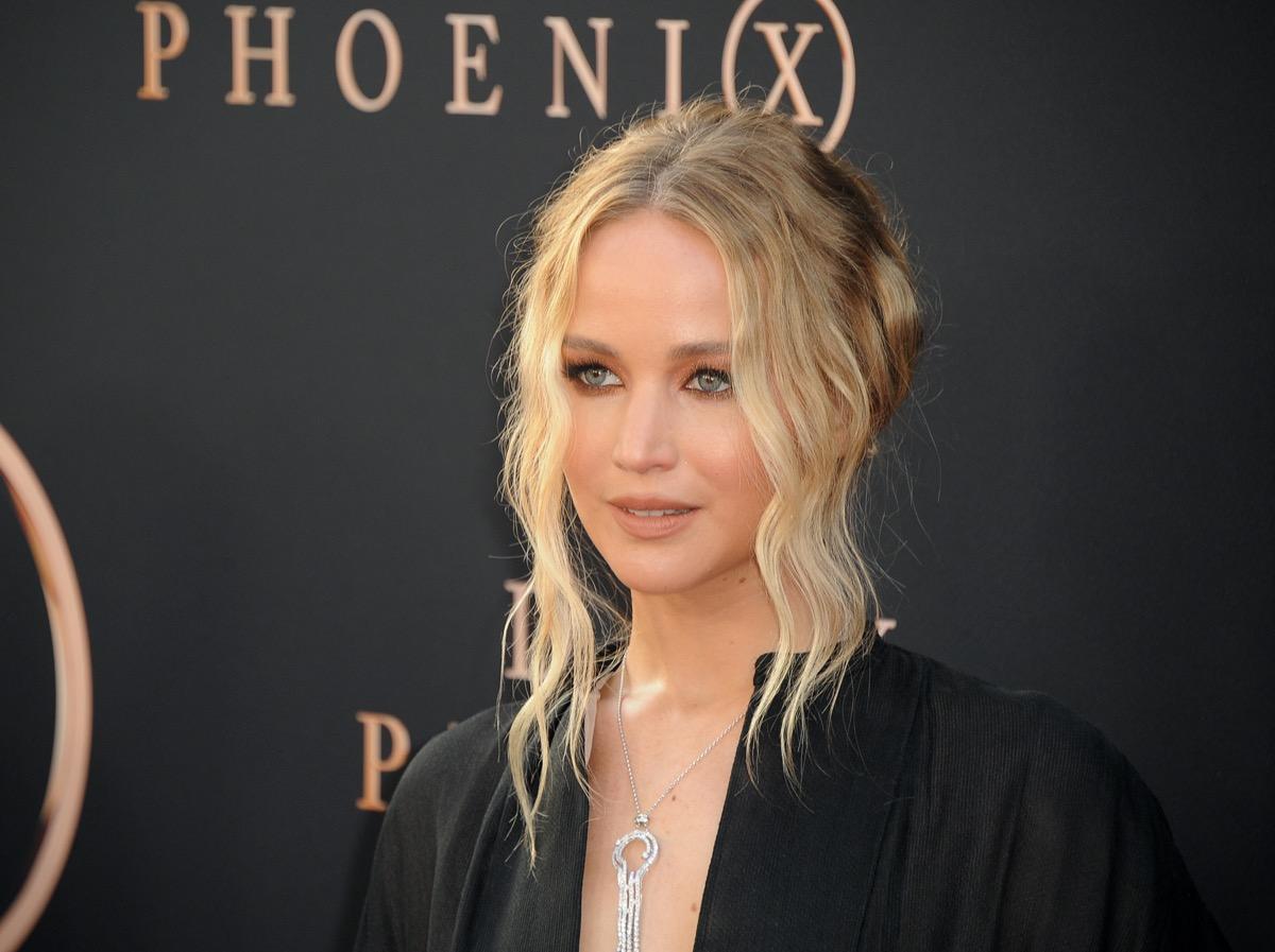 "Jennifer Lawrence at the premiere of ""Dark Phoenix"" in 2019"