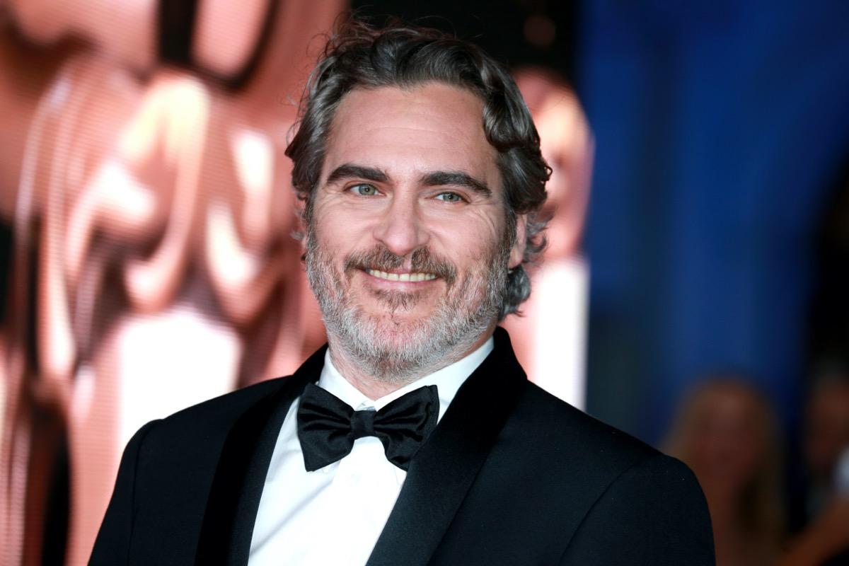 Joaquin Phoenix at the 2020 BAFTAs