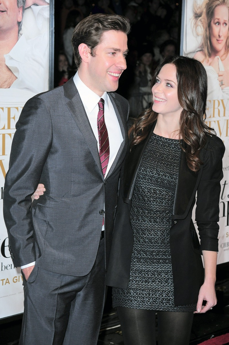 John Krasinski and Emily Blunt 2009