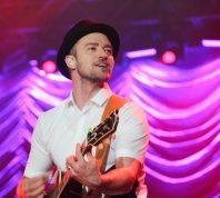 Justin Timberlake performing