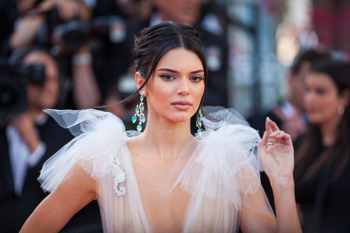Kendall Jenner at the Cannes Film Festival in 2018