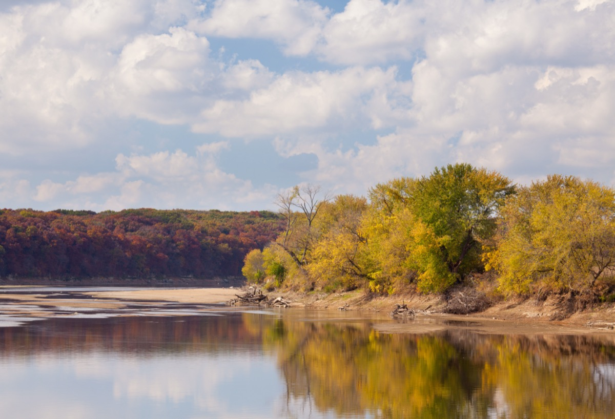 Des Moines River, Lacey-Keosauqua State Park, Van Buren County, Iowa