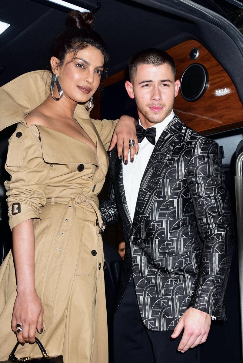 Priyanka Chopra and Nick Jonas 2017