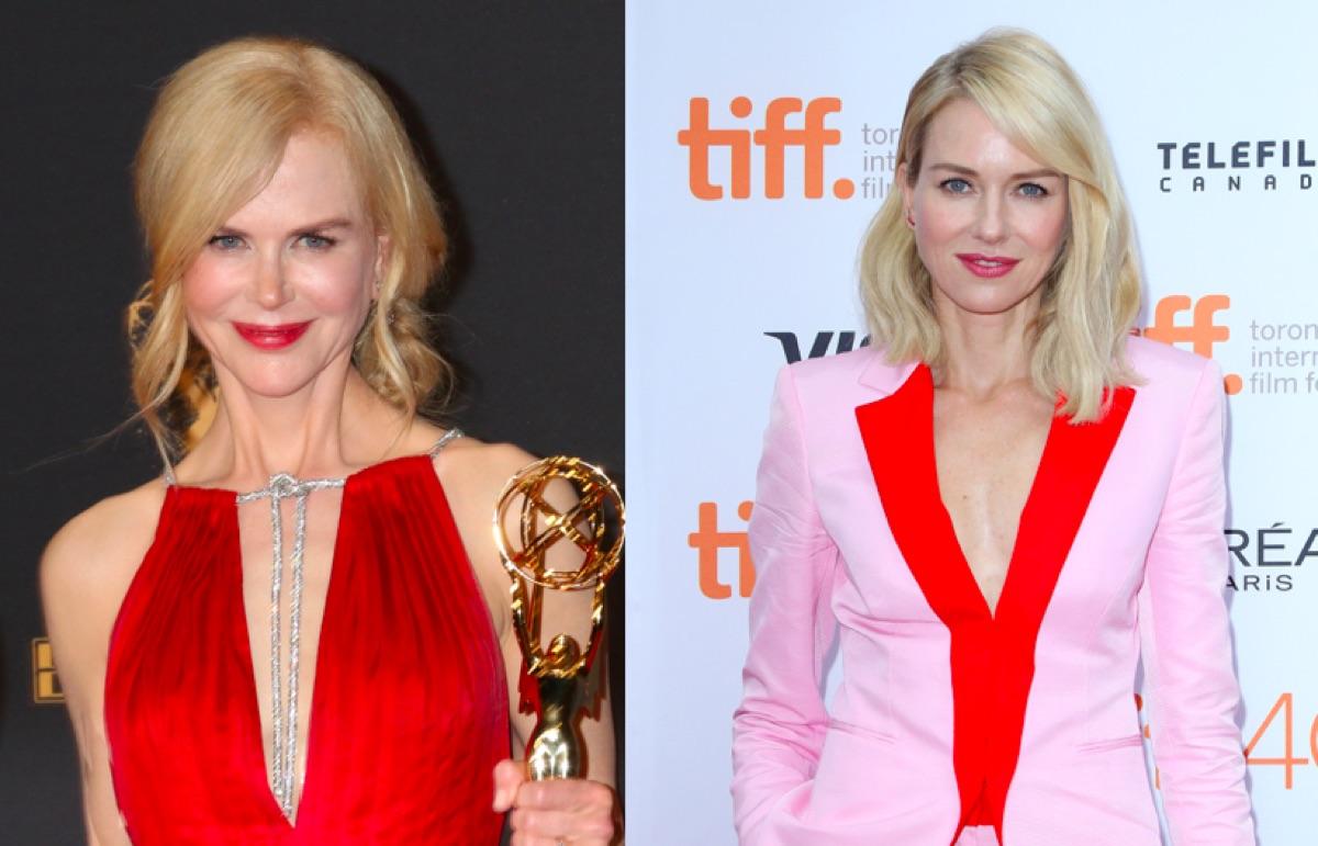 Nicole Kidman and Naomi Watts