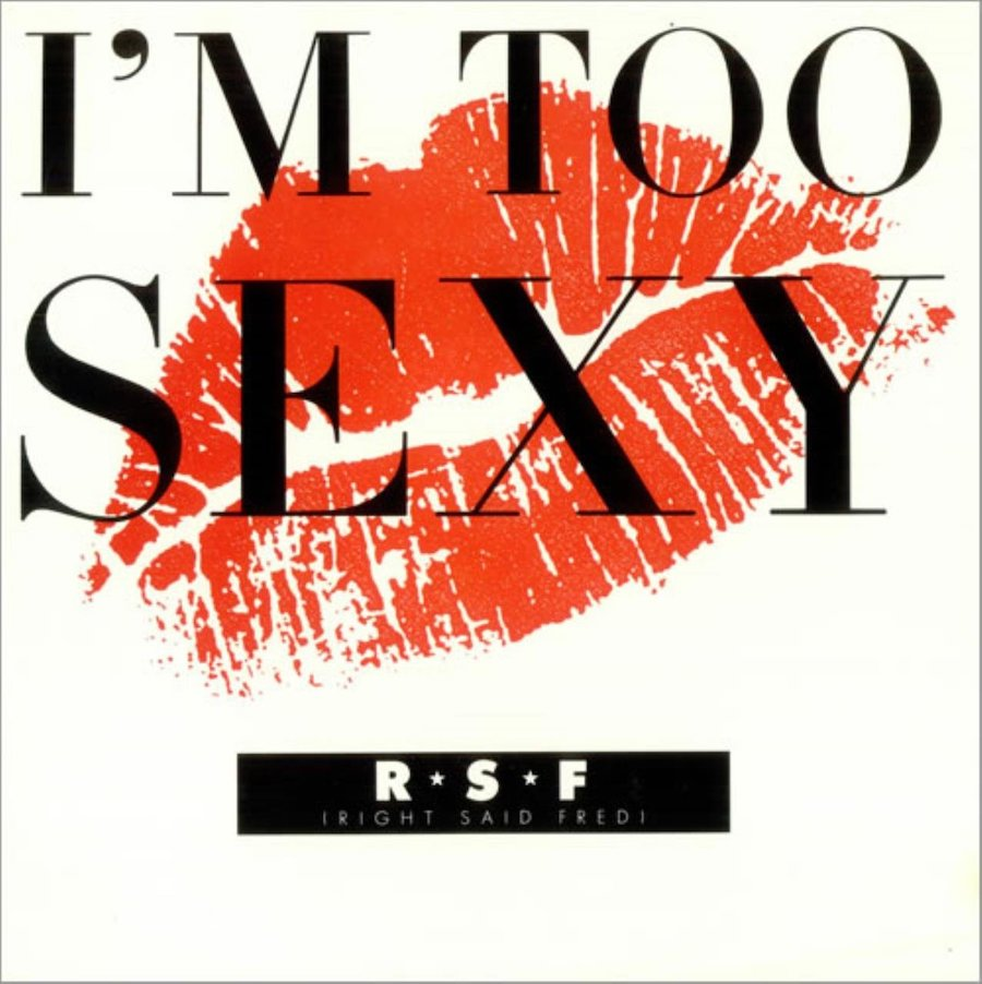 """right said fred album cover for """"i'm too sexy"""""""