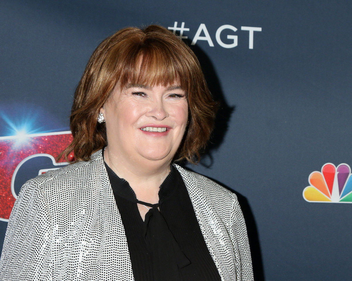 Susan Boyle on the red carpet for 'America's Got Talent' premiere in 2019