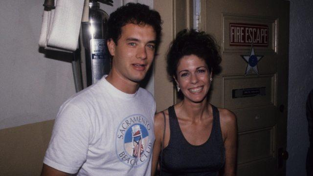 Tom Hanks and Rita Wilson 1986