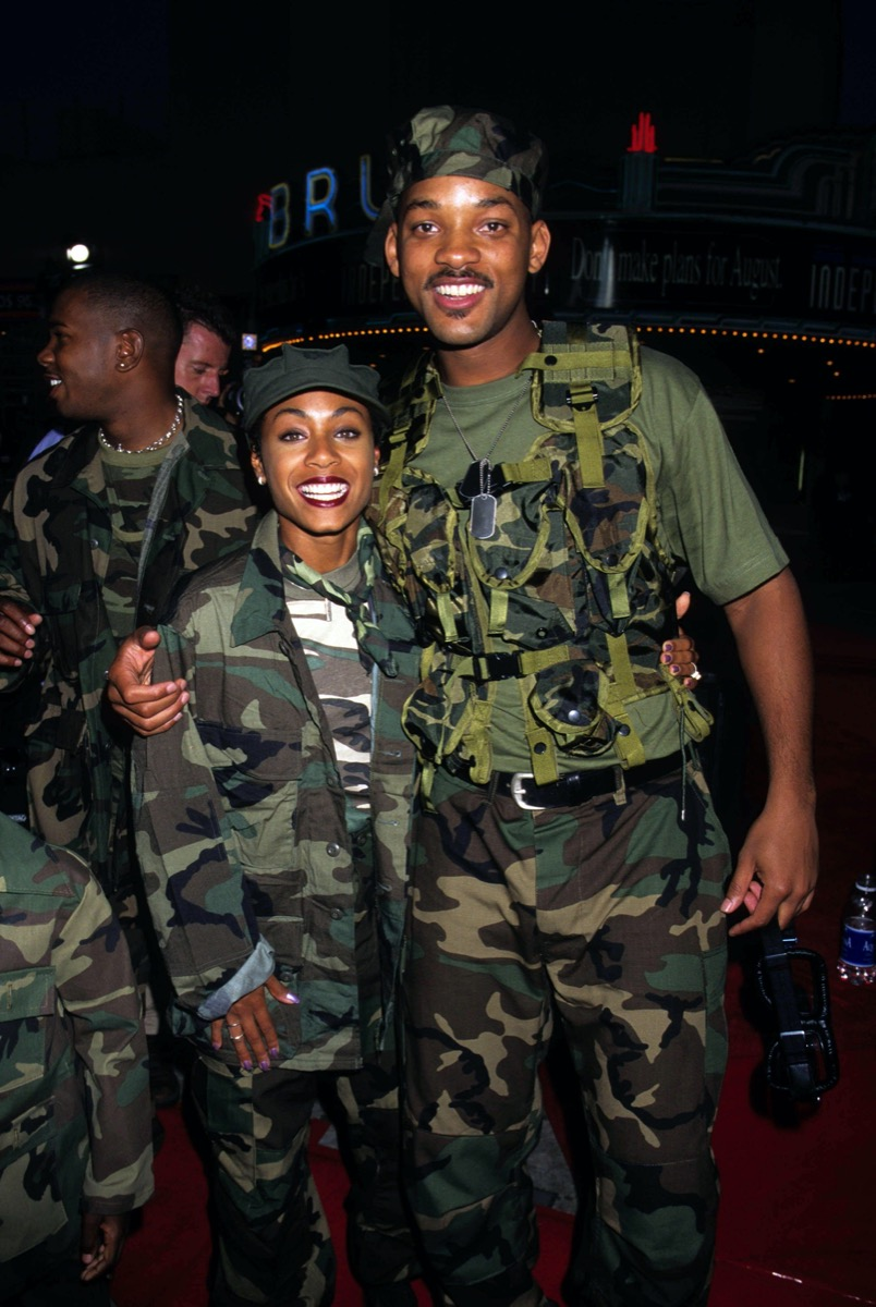 Jada Pinkett Smith and Will Smith 1996