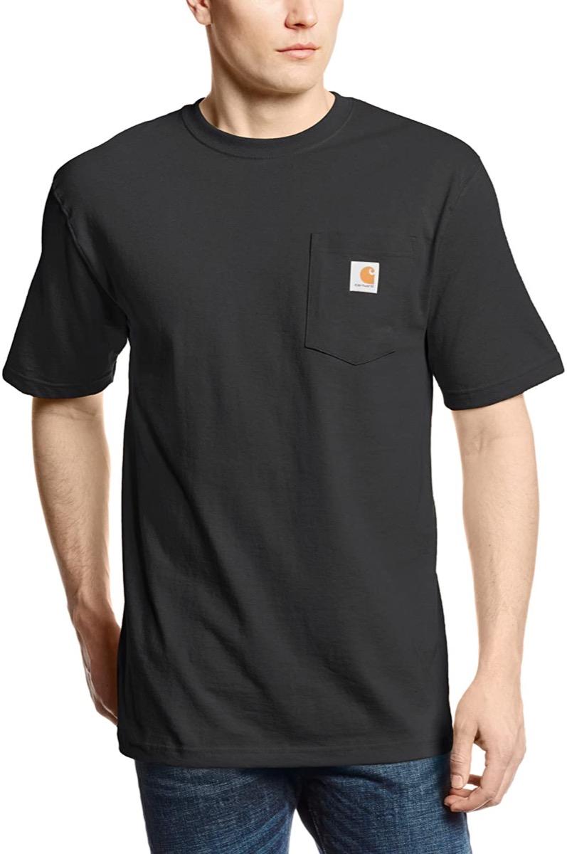 Black work t-shirt