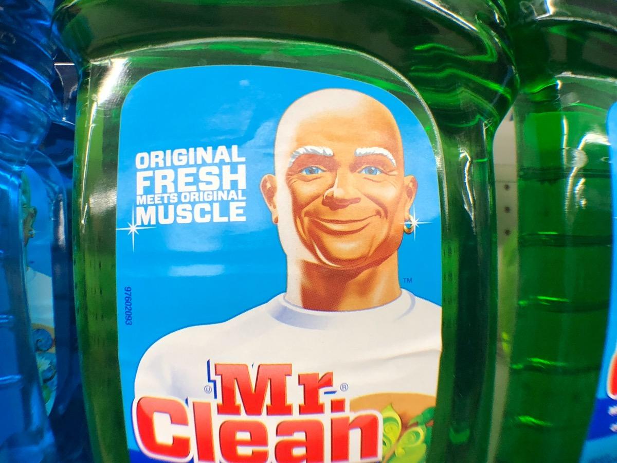 mr clean detergent