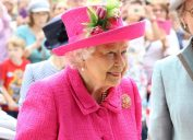 Queen Elizabeth II officially opens the new Royal Papworth Hospital on the Cambridge Biomedical Campus in July 2019