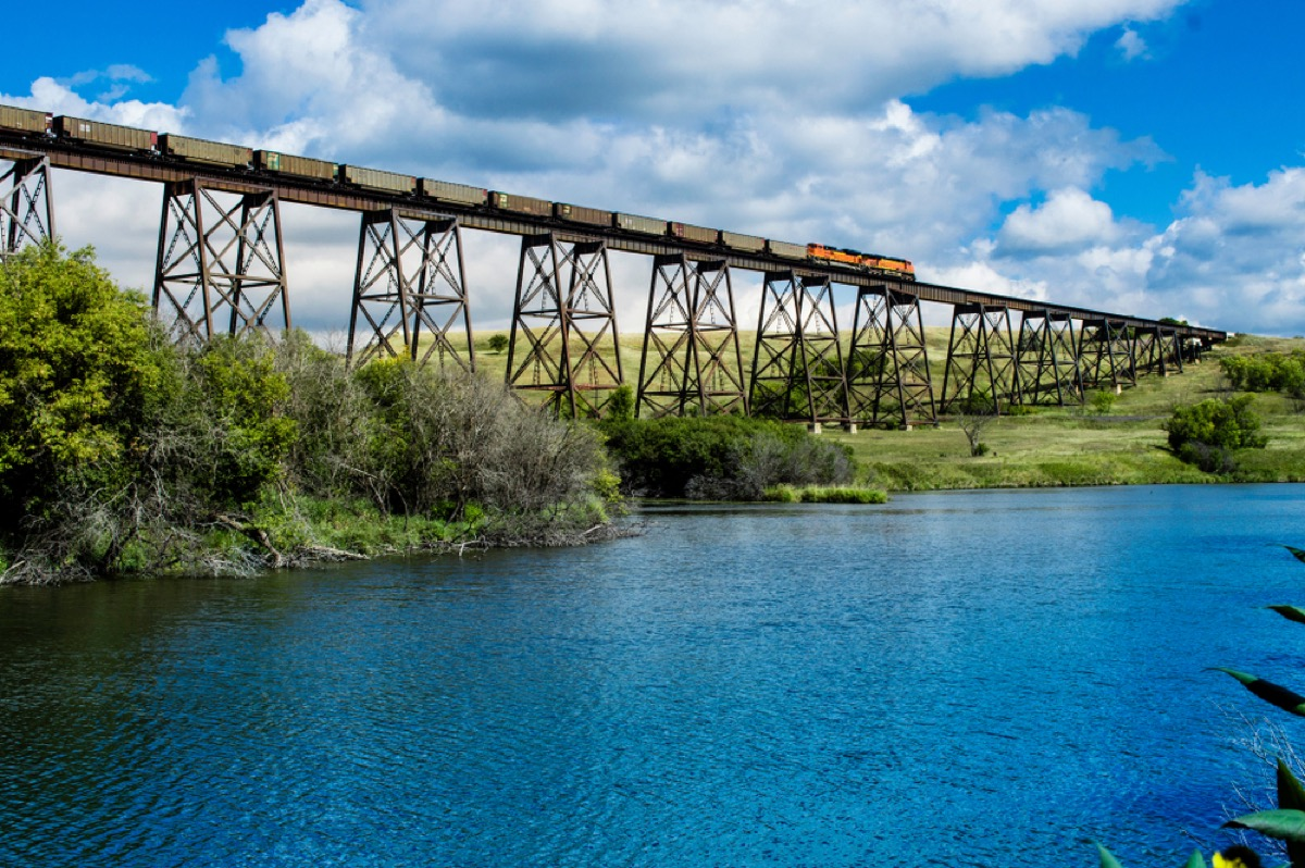 bridge in valley city north dakota