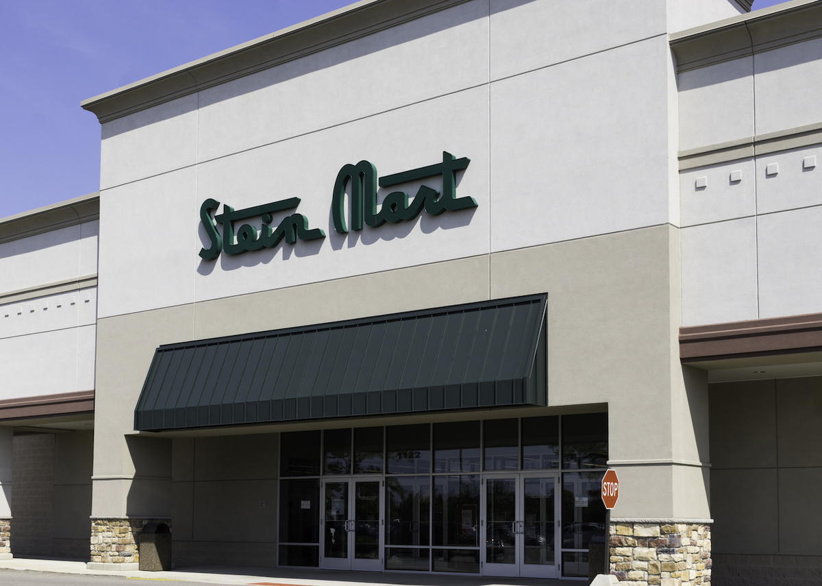 A Stein Mart location in Rochester Hills, Michigan. Stein Mart is a chain of department stores in the US.
