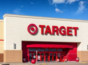 exterior entrance to target store
