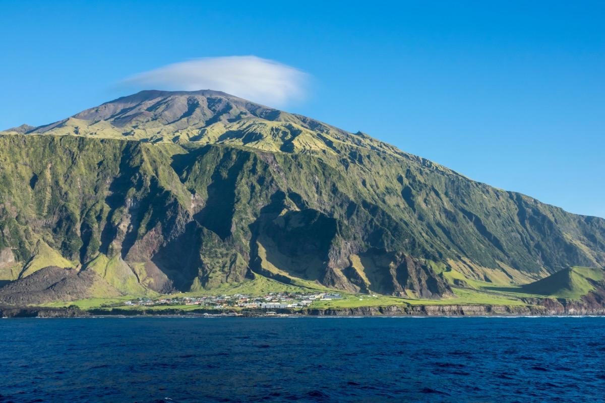 Edinburgh of the Seven Seas, Tristan da Cunha, British Overseas Territories, South Atlantic Ocean