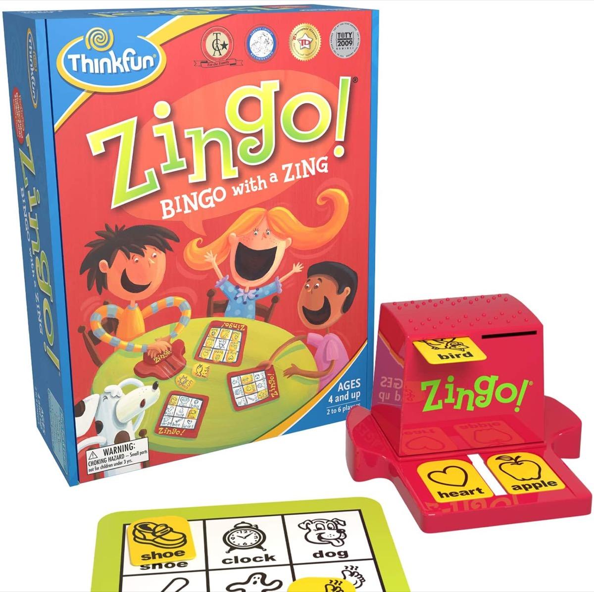 zingo bingo game set