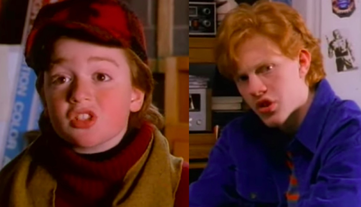 Danny Tamberelli and Michael C Maronna in the Adventures of Pete and Pete