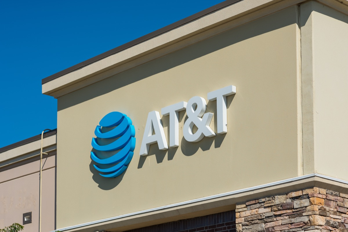 AT&T store exterior