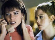 neve campbell and rose mcgowan in scream