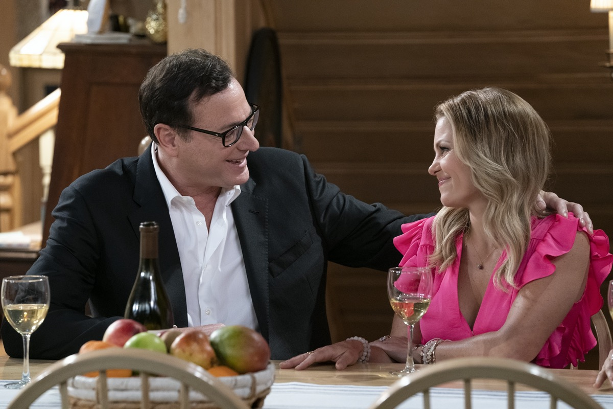 Bob Saget and Candace Cameron Bure in Fuller House