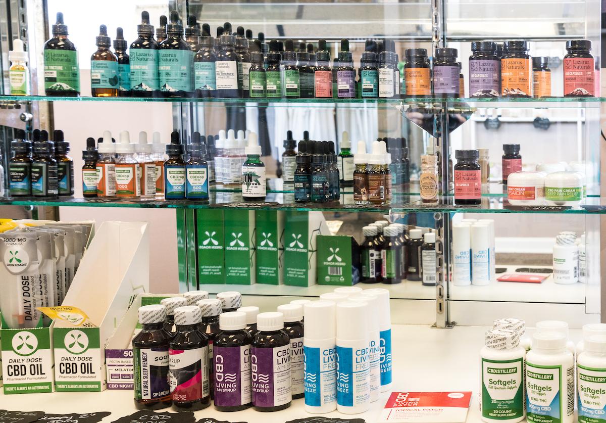 CBD retail products