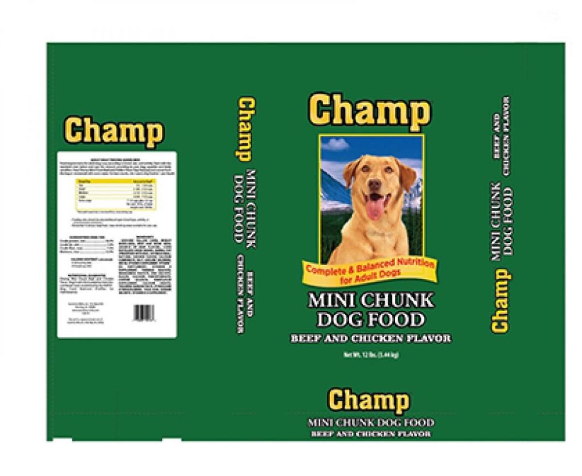 Champ dog food