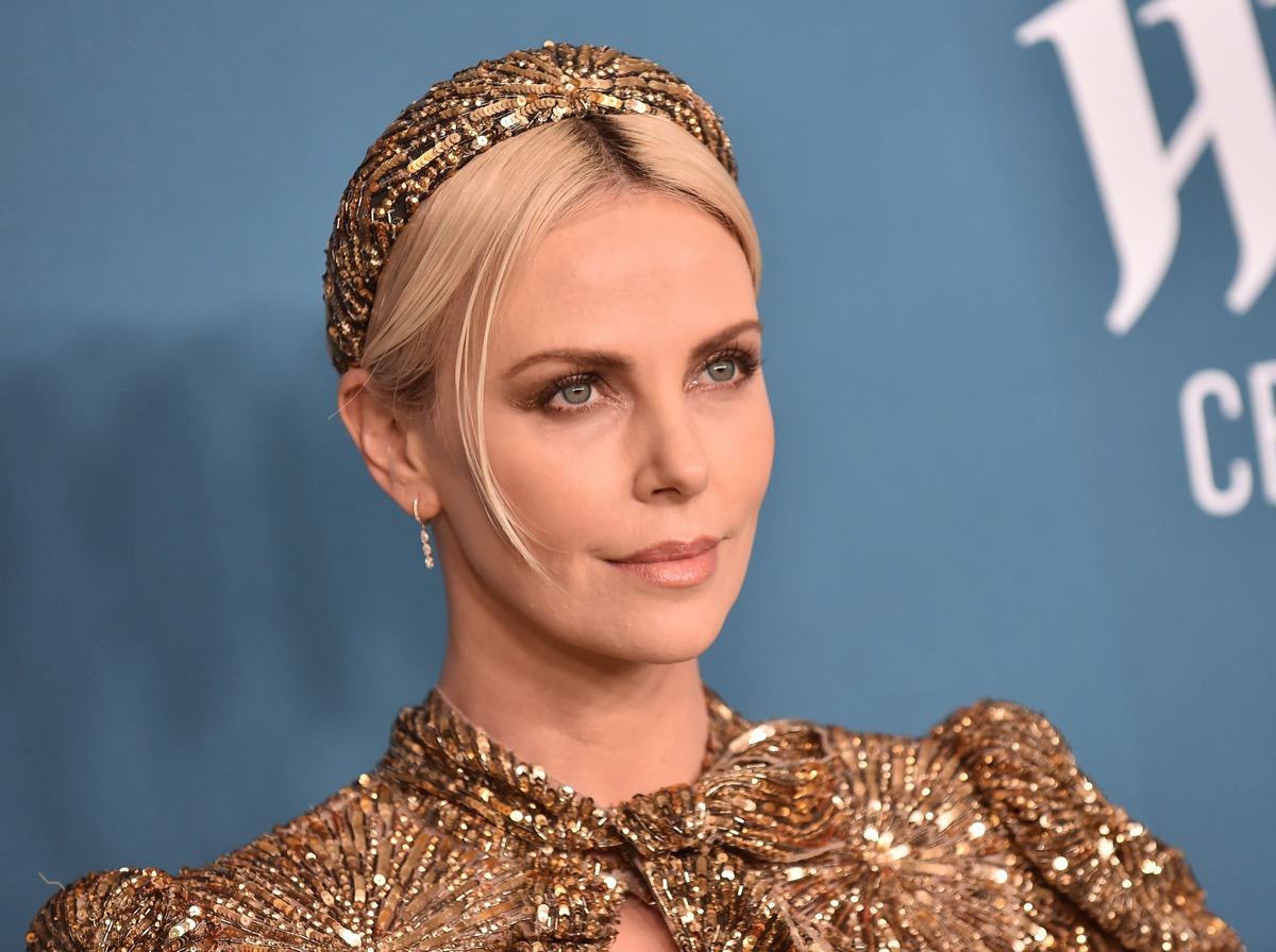 Charlize Theron at the Costume Designers Guild Awards in 2020
