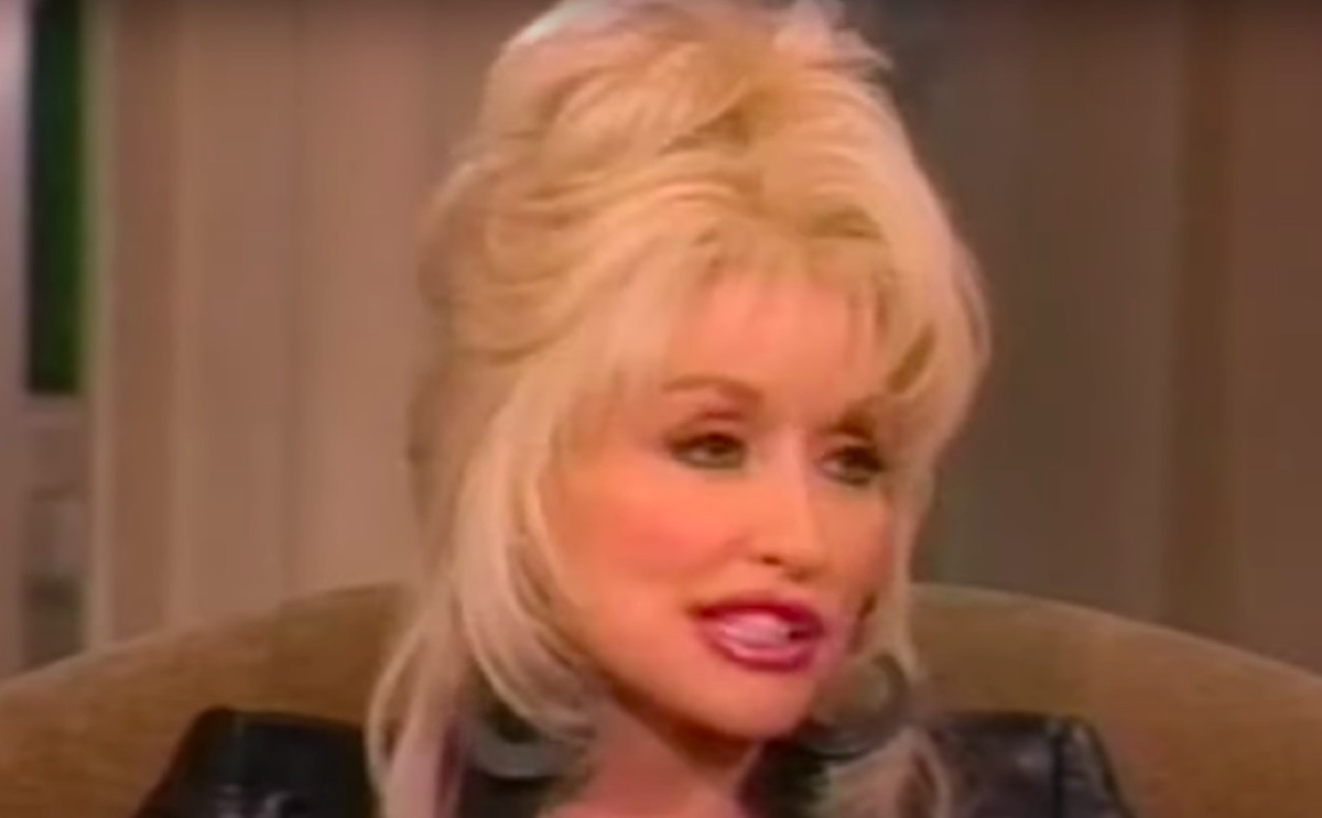 Dolly Parton on The View in 1998