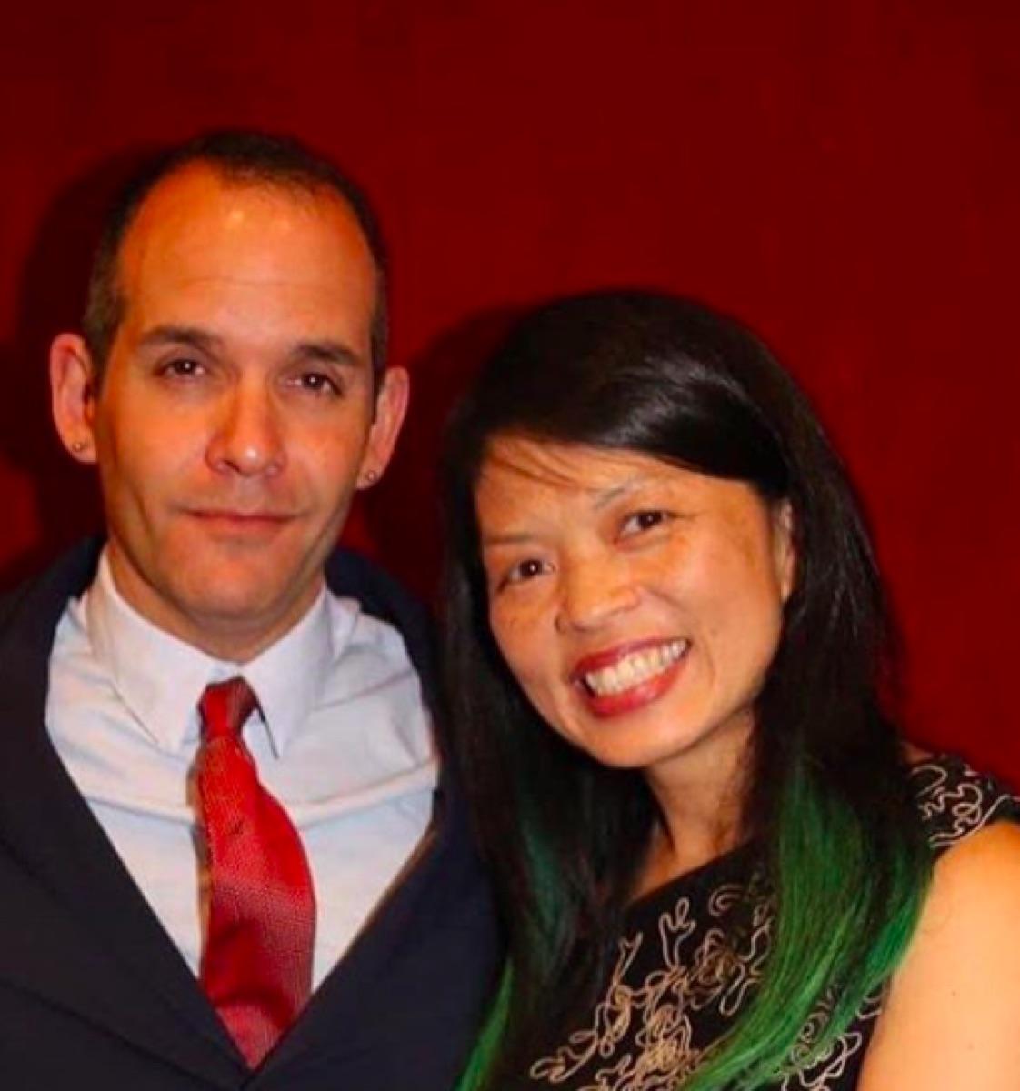 Judd Winick and Pam Ling 2020